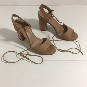Breckelle's lace up heels